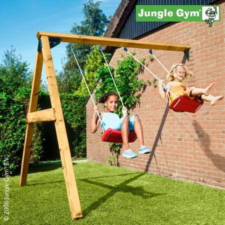 Jungle Gym lesena igralna gugalnica Jungle Swing Modul X'tra
