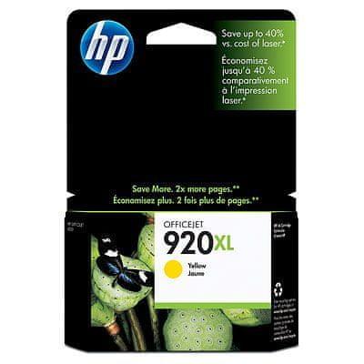 HP tinta #920XL Yellow (CD974AE)