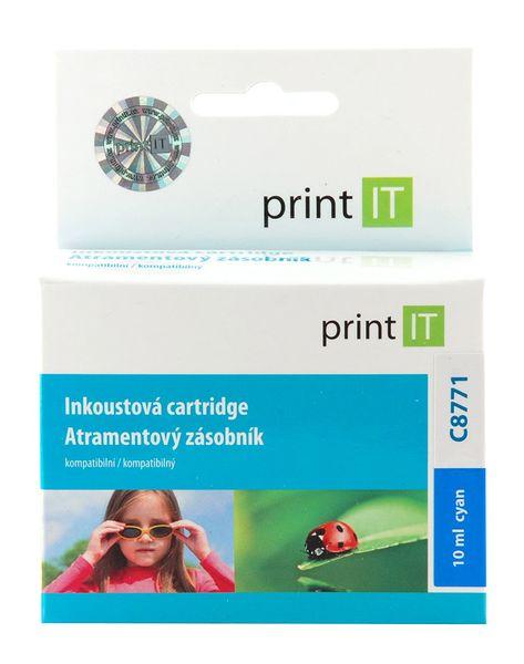 Print IT C8771EE, č.363, azurová (PI-120)