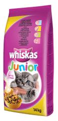 Whiskas granule Junior s kuřecím masem 14 kg
