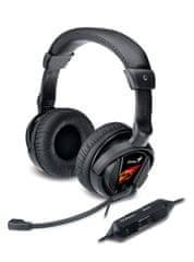 Genius HS-G500V Gaming, s vibracemi
