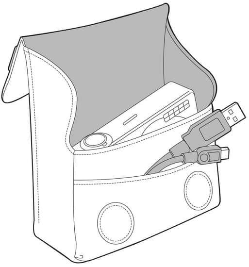 Manfrotto žepek Nano VII-CAM SCP-7BB, črn