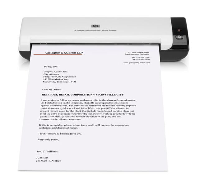 HP ScanJet Professional 1000 (L2722A)