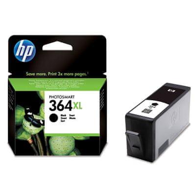 HP kartuša 364 XL, črna (CN684EE)