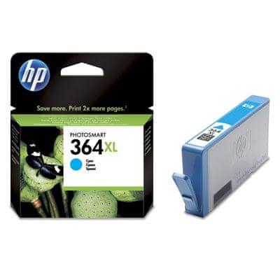 HP 364 XL Tintapatron (CB323EE), Ciánkék