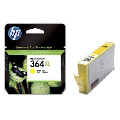 HP kartuša CB325EE, rumena, 750 strani #364XL