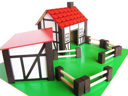 Marionette Farma, dřevěná