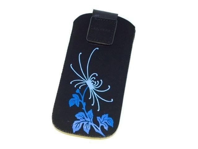 Redpoint Velvet Flowers, vzor 4, modrá, 1.00