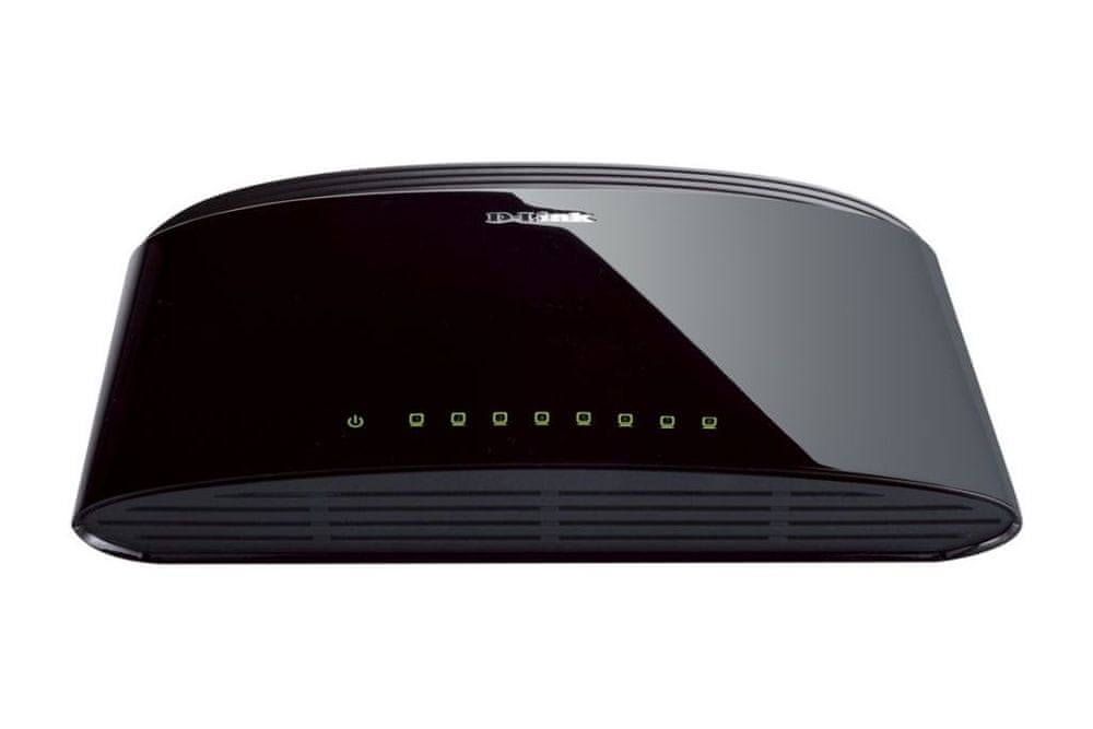 D-Link Switch 8-Port Fast Ethernet (DES-1008D)