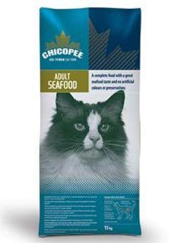 Chicopee hrana za odrasle mačke, morski sadeži, 15 kg