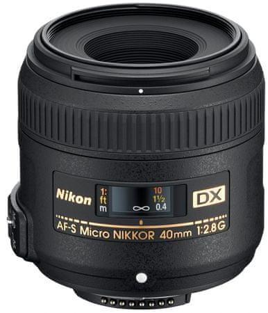 Nikon objektiv AF-S DX Micro NIKKOR 40 mm f/2,8 G