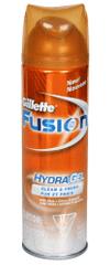 Gillette Fusion Żel nawilżający Clean & Fresh 200 ml