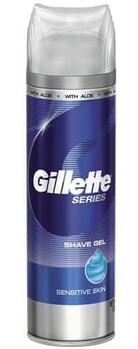 Gillette Series Gel na holení pro citlivou pokožku 200 ml