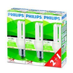 Philips Genie 11W E27 set 3ks