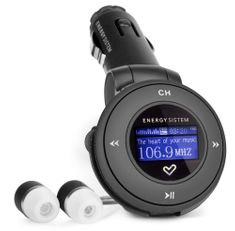 Energy Sistem CAR MP3 1204 / 4GB (Deep Black)