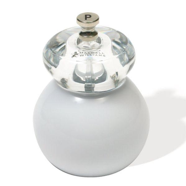 Maxwell & Williams Bounce mlýnek na pepř 11 cm - bílý
