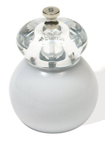 Maxwell & Williams mlinček za sol Bounce, bel