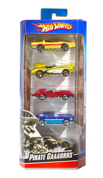 Hot Wheels Angličák 5pack