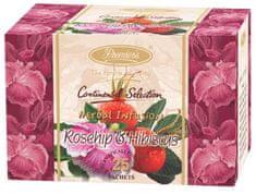 Premier´s Šípok a ibištek pravý indický bylinný čaj 4x25 ks