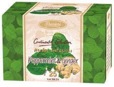 Premier´s MÁTA A ZÁZVOR pravý indický bylinný čaj 4x25 ks