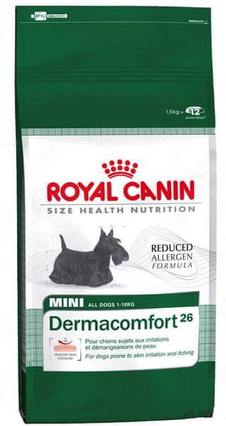 Royal Canin Mini Dermacomfort 26 10 kg