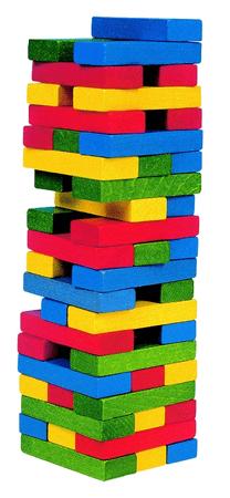 Woody Tower Tony veža - farebná