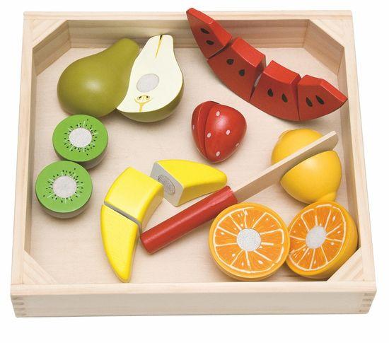 Woody pladenj s sadjem