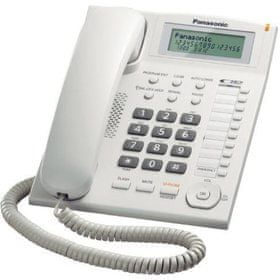 PANASONIC KX TS880FXW Vezetékes telefon  7917aea41e