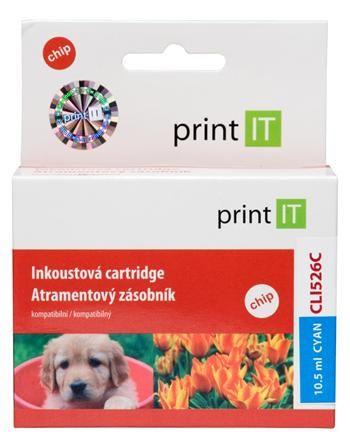 Print IT CLI-526C, azurová
