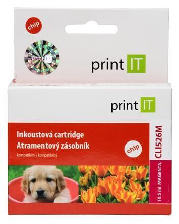 Print IT CLI-526M, purpurová