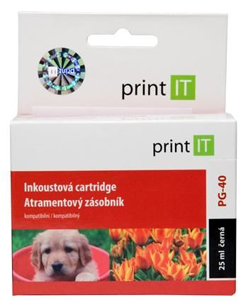 Print IT PG-40, černá (PI-29)