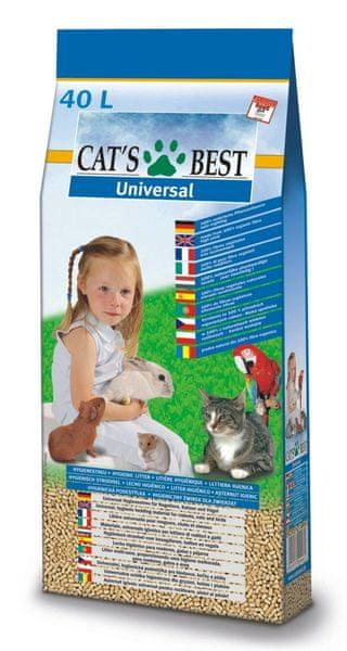 JRS kočkolit Cats Best Universal 40 l