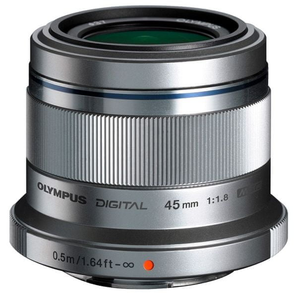 Olympus 45 mm M.ZUIKO DIGITAL f/1.8 Silver