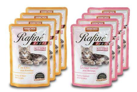 Animonda Rafiné juha za mačje mladiče, 8 x 100g