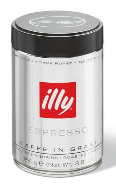 illy Zrnková káva Dark 250 g