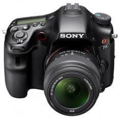 Sony digitalni fotoaparat SLT-A77VK + 18-55 mm