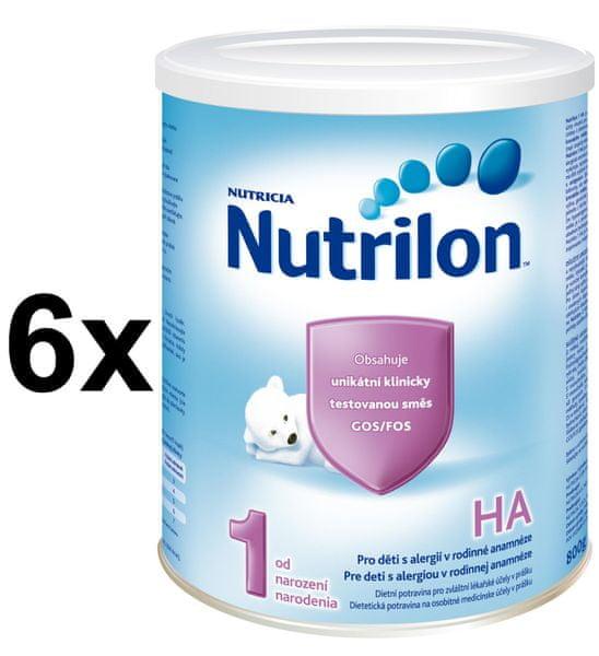 Nutrilon 1 HA - 6 x 800g - II. jakost