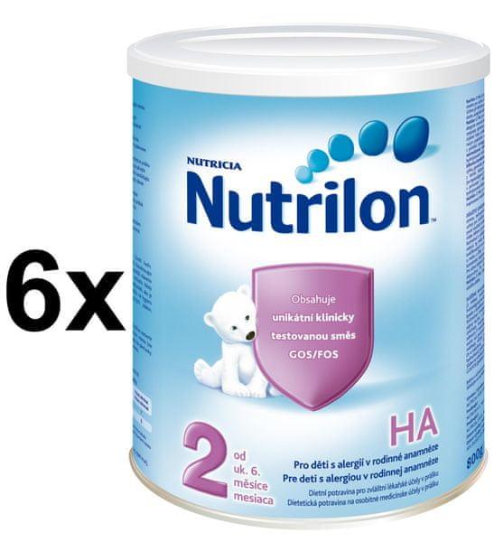 Nutrilon 2 HA - 6 x 800g - II. jakost