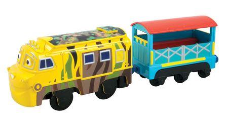 Chuggington Stacyjkowo Motorised,  Mtambo i Wagon Pasażerski Lc58005