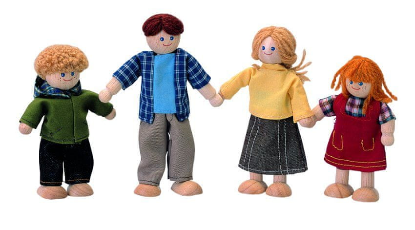 "Plan Toys Panenky do domečku ""Rodinka"""