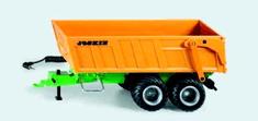 SIKU Control - Przyczepa z osią typu tandem i baterią dla modeli RC 1:32