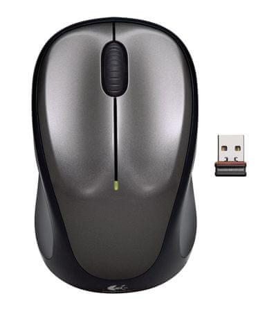 Logitech miš M235, sivi