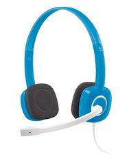 Logitech slušalice Stereo Headset H150, plave