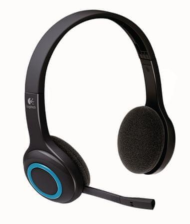 Logitech brezžične slušalke Wireless Headset H600