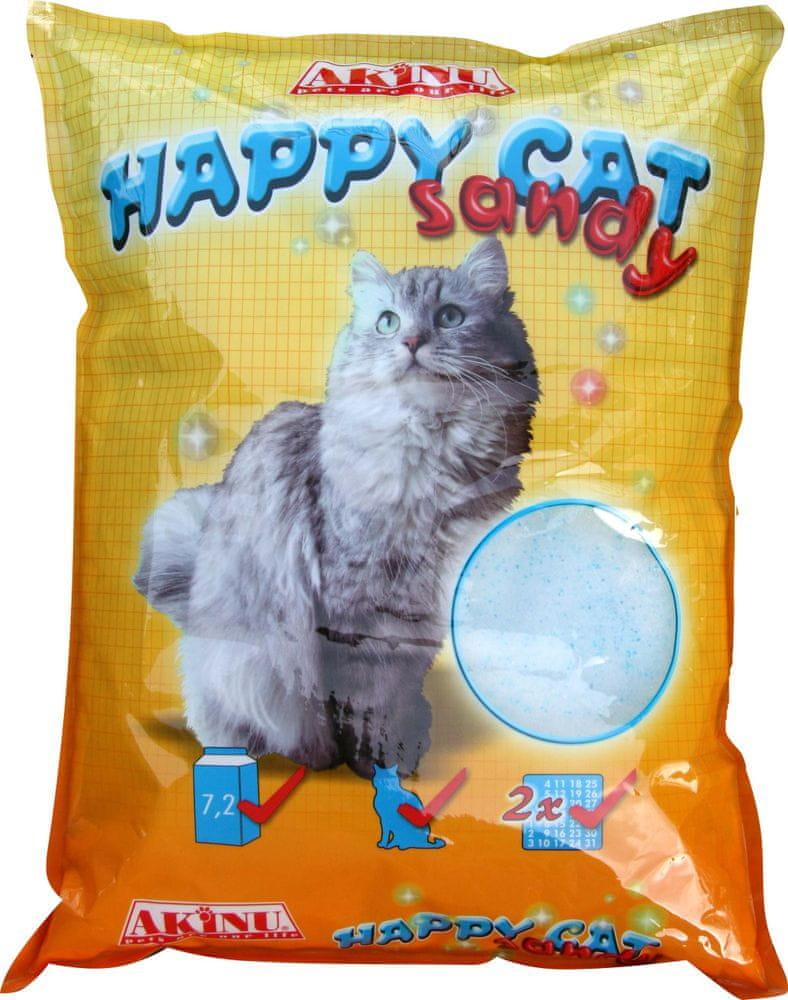 Akinu stelivo HAPPY CAT 7,2 l Sandy