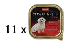 Animonda VomFeinstein senior hovädzie+kura 11x150g