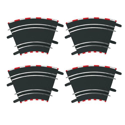 Carrera Klopené zatáčky 1/45 (4ks)