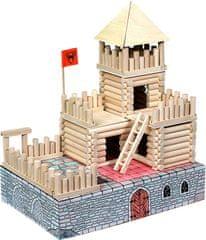 WALACHIA Vario Kastély készlet Fa építőjáték