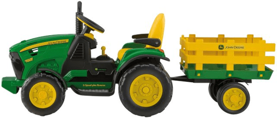 Peg Perego JD Ground Force traktor zelený