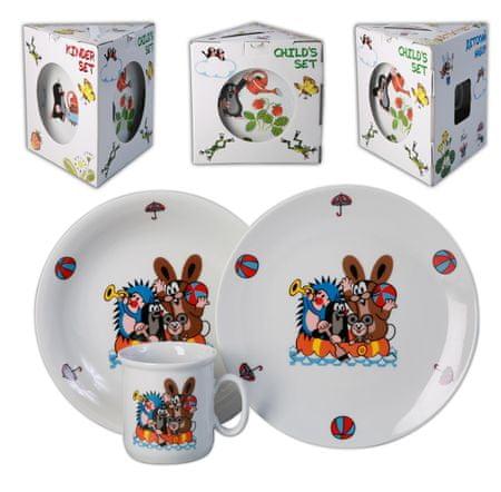 Thun Kisvakond Gyermek étkészlet - 3 db
